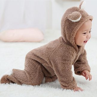 5be38c31b7866 Cute Romper Jumpsuit with Bear ear for Newborn [0-12 month]