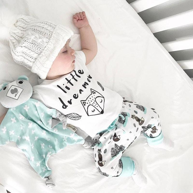 a47e22d72 Newborn [0-2 Yr] Stylish little dreamer Cloth set - TheKidling.com