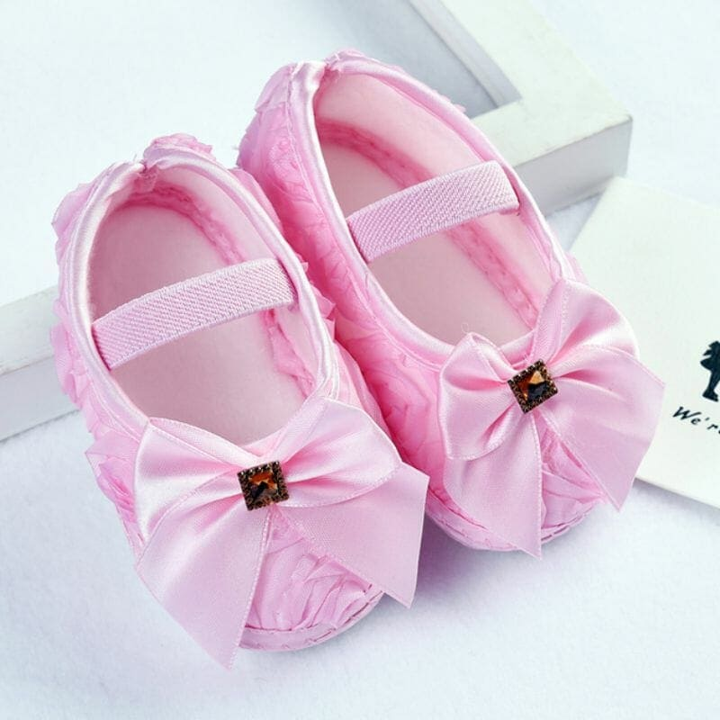 Newborn (First Walkers) Cute Baby Girls Shoes - The Kidling 7ff4fcf99