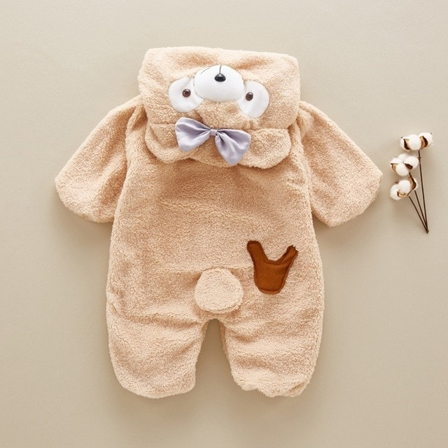 7e4a7e135541c Cute baby bear rompers for 0-4 Years old kids - TheKidling.com