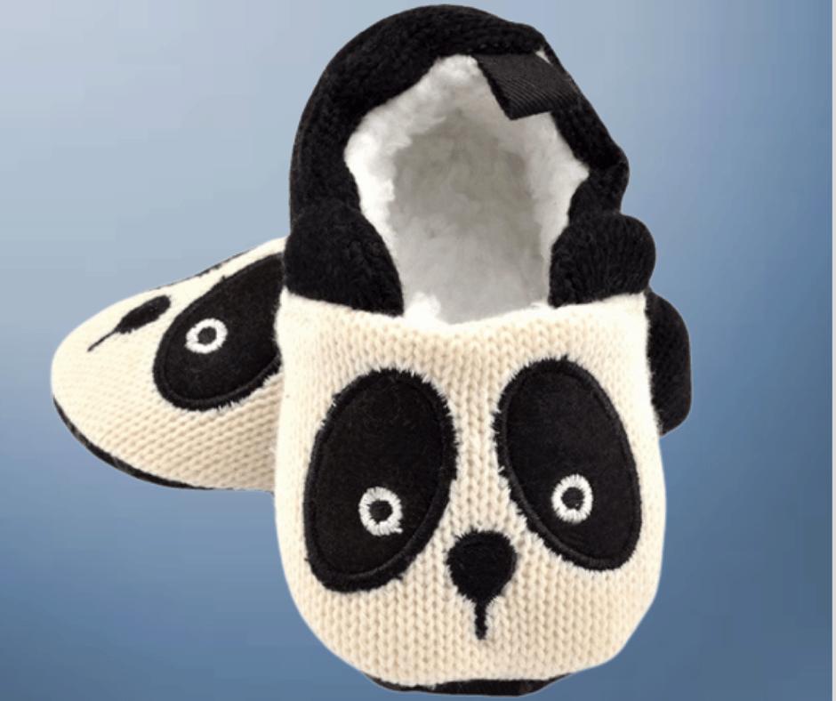 panda shoes for newborn