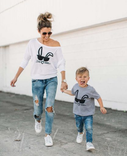 mother son matching outfit