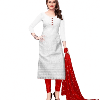 cotton kurti red