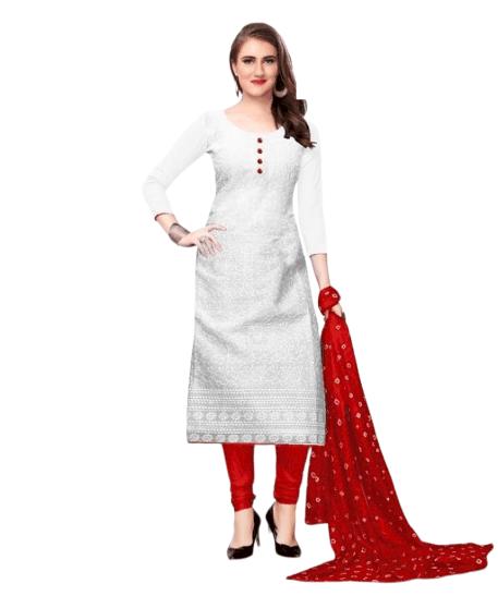 cotton kurti red