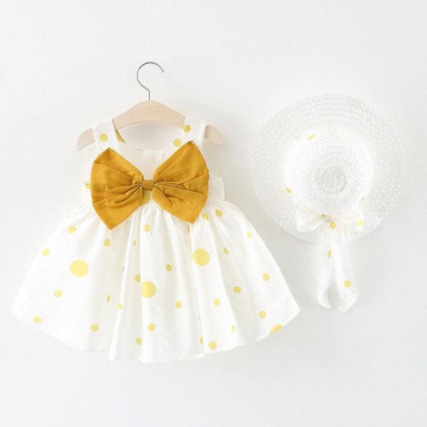 yellow birthday special dress