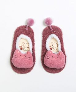 baby booties pink